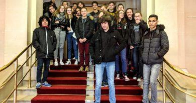 L'histoire du théâtre Georges LEYGUES avec les élèves de 1S3