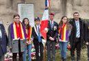 Les élèves à la 75e commémoration Eysses