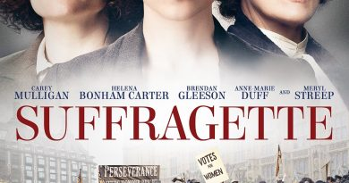 We watched The Suffragette by Sarah Gavron