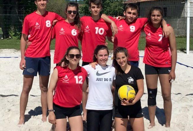 Notre équipe de Beach Volley qualifiée pour les Championnats de France !